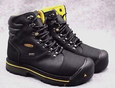 """KEEN Utility Men's Milwaukee 6"""" Steel Toe Safety Work Boot Black  NEW shoes"""