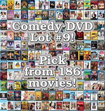 Comedy DVD Lot #9: 186 Movies to Pick From! Buy Multiple And Save!