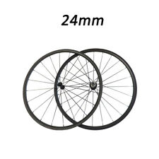 Highly Light 24mm Depth Clincher Road Bike Bicycle Touring 700C Carbon Wheelset