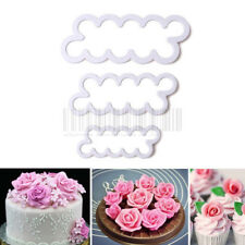 Rose Flowers Cookie Pastry Biscuit Cutter Fondant Cake Decorating Mold DIY Tool