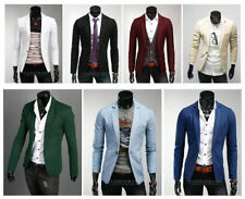 New men fashion leisure cultivate one's morality personality small suit jacket M