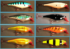 6 inch Super Cisco Crankbait Musky Bass Pike Fishing Lure You Choose Color New