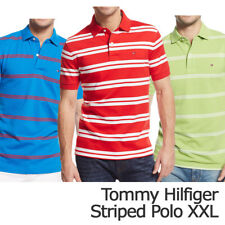 Tommy Hilfiger Mens Striped Polo Shirt Size XXL New with Tag