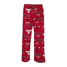 Chicago Bulls All Over Sweep Pajama Pants (Red)