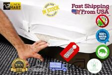 Hypoallergenic Mattress Cover Box Spring Bed Bug Protector Waterproof Dust Mite