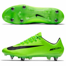 Mens Nike Mercurial Vapor XI SG-PRO Soccer Cleats 10 Electric Green 831941-303