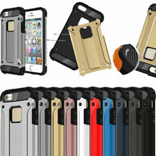 For Apple iPhone Shockproof Rugged Hybrid Armor Hard Case Cover Protective Skin