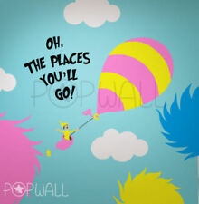 Children Wall Decal Wall Sticker Dr seuss Kid from Oh, the Places You'll Go!