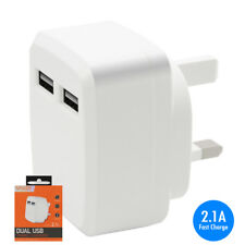 2.1A Fast Charge USB Mains Charger Adapter for LG GT540 Optimus
