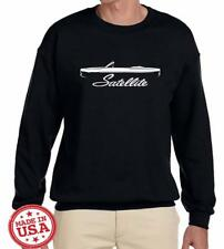 1968 1969 Plymouth Satellite Convertible Outline Design Sweatshirt NEW