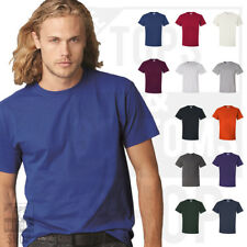Jerzees Mens HiDENSI-T T-Shirt Plain Cotton Basic T Shirt S-5XL - 363MR
