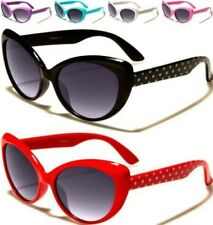 NEW CHILDRENS SUNGLASSES KIDS GIRLS BLACK DESIGNER CAT EYE RETRO VINTAGE UV400