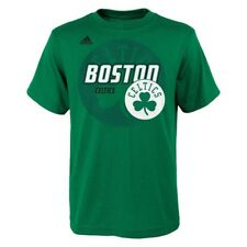 Boston Celtics Youth Distressed Back Logo T-Shirt (Green)