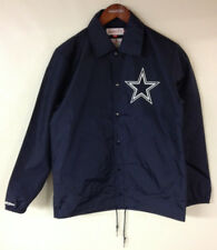Dallas Cowboys Mitchell & Ness NFL Retro Authentic Coaches Jacket Throwback