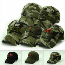 Unisex Camouflage Cotton Baseball Hat Adjustable Army Cap Nice Gift For Army Fan