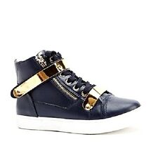 LADIES WOMENS HI TOP ANKLE TRAINERS  FLAT LACE BOOTS THICK FUR LINED SNEAKERS 3