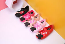 Mouse Mini Melissa Girls Thick Head Shoes Sandals Toddler US Size 6-11 EUR 24-29
