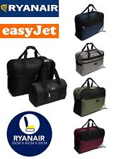 2 Piece Ryanair Easyjet approved cabin hand luggage carry on flight bags.