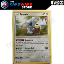 4x Komala 114/145 | Uncommon | Guardians Rising | Pokemon TCG | NM