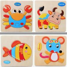 Jigsaw Wooden Animal Puzzle for Kids