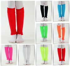 Womens Leg Warmers Bright Colours Fancy 80s Party Dance Wear 3 6 9 or 12 Pairs