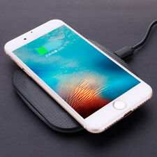 Qi Wireless Charger Pad + USB Cable For iphone 8/X Android Samsung Nexus HTC New