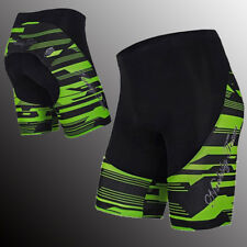 Men's Gel Padded Bike Shorts Road Cycling Clothing Lycra Stretchy Short Trousers