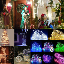 20/50/100 LED USB Fairy String Silver Wire Fairy Light Party Decor Waterproof