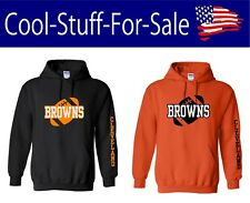Cleveland Browns Football Pullover Hooded Sweatshirt