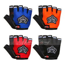 Outdoor Sports Cycling Bicycle Bike Gel Half Finger Women/Men Fingerless Gloves