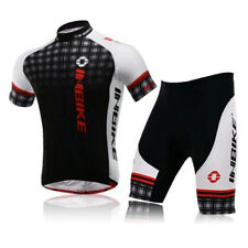 Cycling Clothing Sets Men's Bike Jersey+4D Gel Padded Lycra Short Pants Suits