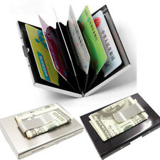Credit Card Holder RFID Blocking Wallet Business Card Holder Money clip