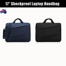 17'' Laptop Shoulder Bag Business Messenger Notebook Handbag Travel Briefcase