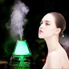 Aroma Diffuser Ultrasonic Humidifier 7 LED Air Mist Aromatherapy Purifier Hot