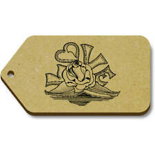 'Love Rose' Gift / Luggage Tags (Pack of 10) (vTG0015570)