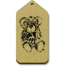 'Teddy Bear' Gift / Luggage Tags (Pack of 10) (vTG0006708)