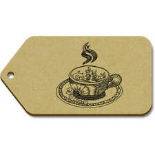 'Fancy Teacup' Gift / Luggage Tags (Pack of 10) (vTG0018275)