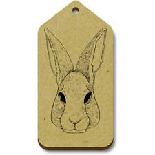 'Cute Rabbit Face' Gift / Luggage Tags (Pack of 10) (vTG0016424)