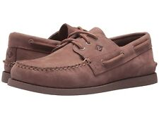 NEW Mens SPERRY TOP-SIDER Blush Leather A/O AUTHENTIC ORIGINAL CREPE Boat Shoes