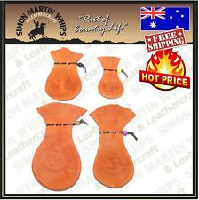 KANGAROO SCROTUM LEATHER COIN POUCH ALL SIZES - Australian Tanned