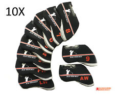 10 X Golf Iron Covers For All-Brand Ping Callaway Titleist Suit your Golf Bag