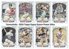 2016 Topps Gypsy Queen Power Alley Baseball Set  ** Pick Your Team **