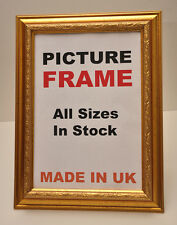 Gold Ornate Picture Frames | All Sizes Multisize Photos Pictures Framing U.K.