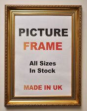 Large Gold Vintage Picture Frames | Large Gold Photo Frames | Ornate Gold Frame