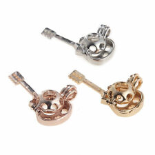3PCS Locket Pendant Guitar Shape Pearl Beads Cage Silver/Rose Gold Oil Diffuser