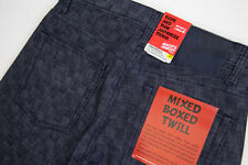 Naked & Famous Weird Guy Mixed Boxed Twill Indigo
