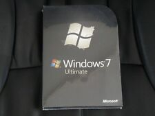Genuine Microsoft Windows 7 Ultimate 32/64 Bit Full Version