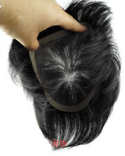 6inch Different Mono Base Human Hair Topper Toupee Hairpieces For Men