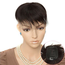 "Base 2.5''x3.5""100% Human Hair Topper Hairpiece Hair Toupee For Womens Mens"