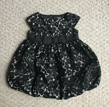 Baby Gap Infant Girls Black Lace Dress New NWT Holiday Wedding Pageant